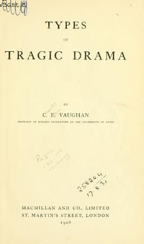 Types of tragic drama.