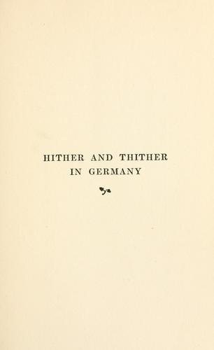 Download Hither and thither in Germany.