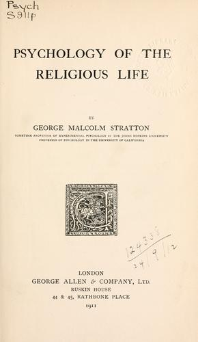Download Psychology of the religious life.