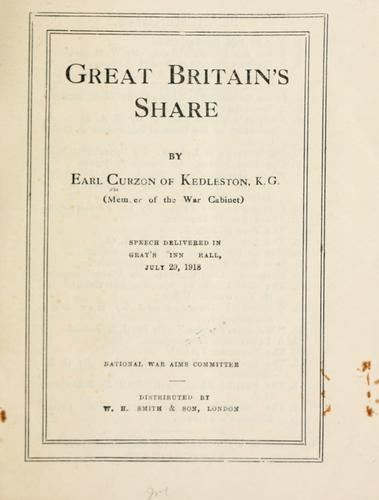 Download Great Britain's share