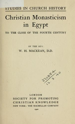Download Christian monasticism in Egypt to the close of the fourth century