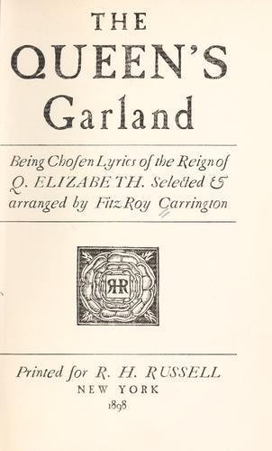 Download The Queen's garland