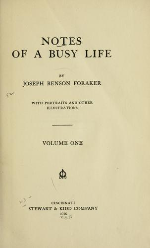 Download Notes of a busy life.