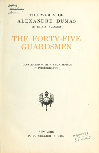 The forty-five guardsmen.