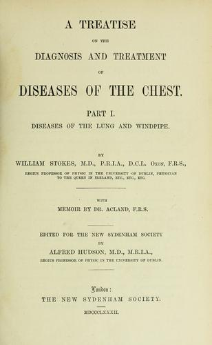 Download A treatise on the diagnosis and treatment of diseases of the chest