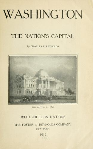Washington the nation's capital.