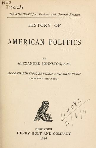 History of American politics.