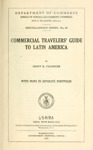 Download Commercial travelers' guide to Latin America