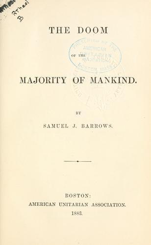 Download The doom of the majority of mankind.