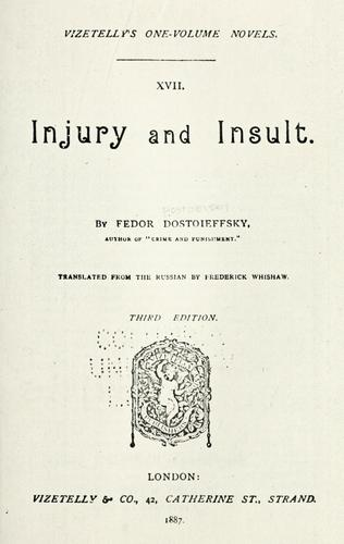 Injury and insult