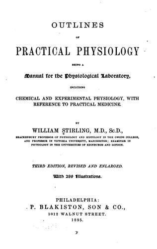 Download Outlines of practical physiology