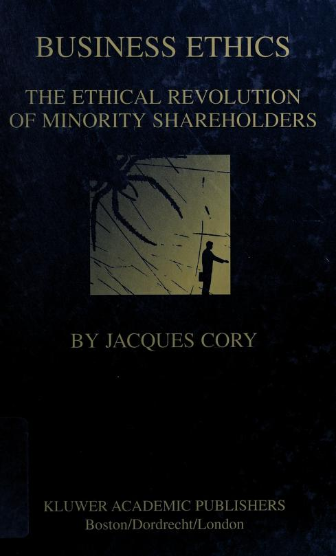 Business ethics by Jacques Cory