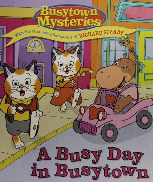 A busy day in Busytown by Natalie Shaw