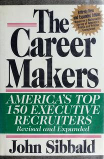 Cover of: The career makers | John Sibbald