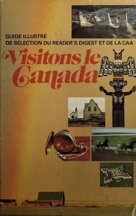 Cover of: Reader's Digest Scenic wonders of Canada |