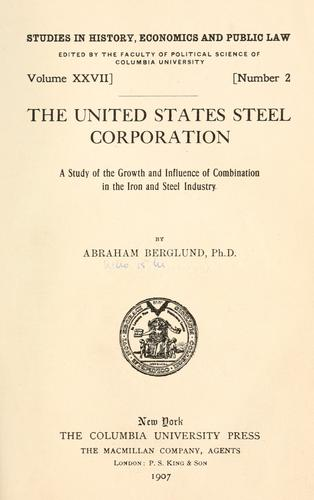 The United States Steel Corporation