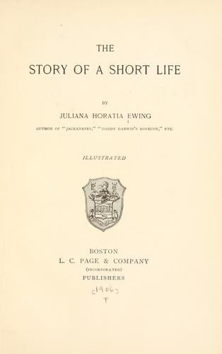 The story of a short life