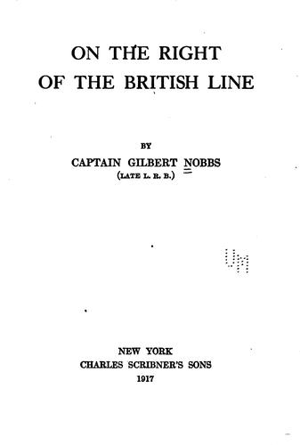 On the right of the British line by Gilbert Nobbs