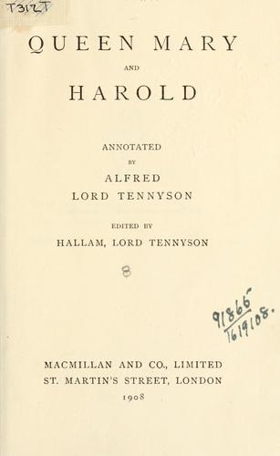 Works, annotated by Alfred, Lord Tennyson