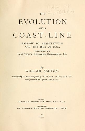 The evolution of a coast-line by William Ashton