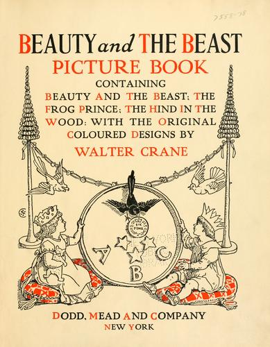Beauty and the beast picture book by Walter Crane